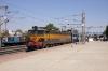 KYN WCAM3 21959 at Manmad Jn with 15018 0530 (P) Gorakhpur Jn - Lokmanya Tilak Terminus