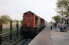 MLY WDM3A 18796 at Bodhan having arrived with 57501 0630 Nizamabad - Bodhan