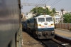 GY WDP4D 40142 passes through Begumpet with 12731 1640 (P) Tirupati - Secunderabad Jn