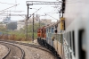 KZJ WDG3A's 14781/14887 approach Hussain Nagar with 11020 1525 (P) Bhubanewsar - Mumbai CST Konark Express