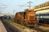 MLY WDG3A 13240 at Kacheguda; it would ultimately work 57688 1855 Kacheguda - Nizamabad