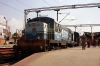 KJM WDS6 36243 at Bangalore City having shunted in the stock to form 16589 2115 Bangalore City - Kolhapur