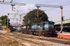 KJM WDG3A's 13118/13367 at Bangalore City, they would later work 16216 1815 Bangalore City - Mysore Jn
