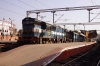 KJM WDM3D 11524 at Bangalore City with 56523 1745 Bangalore City - Hindupur