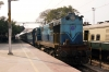 TNP WDM2 17946 shunts stock at Arakkonam Jct; before working 56005 1730 Arakkonam - Chengalpattu later that evening
