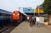 KYN WDG3A 13302 arrives into Guntur Jct with 17222 1225 (P) Lokmanya Tilak Terminus - Kakinada Port