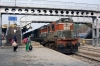 LDH WDM3A 18563 at Firozpur Cantt with 54572 1100 Firozpur Cantt - Ludhiana Jct