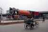 YP #2825 is mounted outside Ambala Cantt station