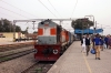 LDH WDM3A 18943 arrives into Phagwara with 11057 2345 (PP) Lokmanya Tilak Terminus - Amritsar; running 4 hours late