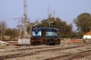 LDH WDM3A 16320 stands spare at Firozpur Cantt; still in KGP livery