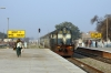 Recently rebuilt TKD WDP1 15048 arrives into Malout with 54754 0615 Sri Ganganagar Jct - Bathinda Jct