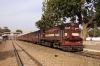 SIKR outbased YDM4 6650 stands at Ringas Jct with 52086 1210 Churu - Jaipur