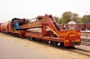 IR built MG crane at Churu Jct