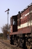 SIKR outbased FL YDM4 6733 waits at the outer home signal of Baori Thikria with 19735 1330 Jaipur Jct - Sikar Intercity