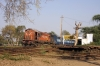RTM WDM3A 16823 at Vadtal Swaminarayan after arrival with 59163 1520 Anand Jn - Vadtal Swaminarayan