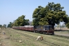 NKE YDM4 6758 waits departure from Bhikhana Thori, on the Nepal border, with 52503 1120 Bhikhana Thori - Narkatiaganj Jct