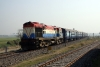 WDM3A 16045R arrives into Sakri Jct with 52514 0700 Jaynagar - Samastipur Jct