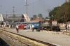 16615 at Sakri Jct with the 0800 Darbhanga - Biraul