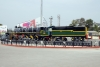 Steam Loco 1798 plinthed outside New Jalpaiguri Jct station