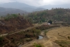 View from the trains as LMG YDM4 6177 leads 15693 0615 Lumding Jct - Silchar between Maibong & Lower Haflong