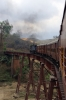LMG YDM4 6177 leads 15693 0615 Lumding Jct - Silchar between Maibong & Lower Haflong