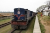 LMG YDM4, Alco machine, 6110 waits at Salchapra with 52583 0755 Karimganj Jct - Silchar