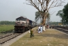"BWN ""Jumbo"" WDM2 17850 arrives Raninagar Jalpaiguri with 13142A 1145 New Alipurduar - Raninagar Jalpaiguri (portion)"