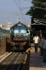 KJM WDG3A at Yesvantpur Jct with 56524 0630 Hindupur Jct - Bangalore City
