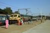 GOC WDG4 12606 arrives Bangalore Cantt with 11014 0830 Coimbatore - Lokmanya Tilak Terminus