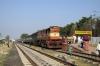 PA WDM3D 11181 at Baramati after arrival with 51327 1435 Daund Jct - Baramati passenger