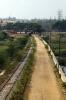 Old MG alignment at Sujathapuram on the Mysore - Chamarajanagar line