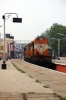 GOC WDM2 16885 (KZJ WDG3A 14926 dit) at Cuddalore Port with 56874 0540 Mayilduthurai Jct - Villupuram Jct