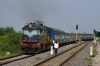 BZA WDP1 15065 arrives into Siripuram with 57218 0530 Macherla - Bhimavaram Jct