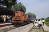 BZA WDM2 18588 at Macherla having arrived with 57217 0800 Guntur Jct - Macherla