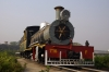 Steam loco #716 plinthed outside the new station building at Lokmanya Tilak Terminus, Mumbai