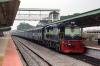 KJM WDG3A 13268 waits to depart Chamarajanagar with 56203 1110 Chamarajanagar - Mysore Jct