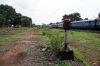 A neglected Sengottai MG station in ruins since closure on 19/09/2010, almost all tracks having been removed