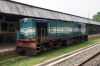 GOC YDM4 6321 resides in the station at Thiruvarur Jct after the service finished and the route was closed for GC on 19/10/2012