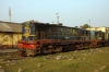 Demic NKE YDM4 6458 at Jhanjharpur Jct