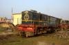 NKE YDM4 6752 at Jhanjharpur Jct