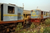 Demic NKE YDM4 6532 & 6512 at Jhanjharpur Jct