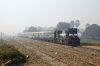 SPJ WDM3D 11507 arrives into Kishanpur with 55253 0830 Samastipur Jct - Darbhanga Jct