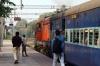 HWH WDM3A 14142 departs Bolpur with 12347 1155 Howrah - Rampurhat