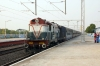 BWN WDM2 17971 arrives into Prantik with 53066 1425 Rampurhat - Barddhaman Jct