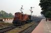 HWH WDM3A 18882 departs Azimganj Jct with 13018 1540 Azimganj Jct - Howrah via Rampurhat