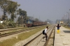 IZN YDM4 6625 arrives into Dohna with 52204 0645 Tanakpur - Izatnagar