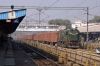 UDL WDG3A 13379 arrives into Moradabad Jct with a freight