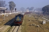 IZN YDM4 6533 arrives into Bhojipura Jct with 52208 0715 Pilibhit Jct - Izatnagar