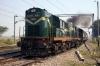 UDL WDG3A 13187 departs Magarwara with 18191 1905 (P) Chhapra Jct - Farrukhabad Jct