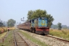 IZN YDM4 6507 arrives into Bangain with 52268 0825 Nepalganj Road - Gonda Jct